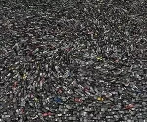Discarded cellphones