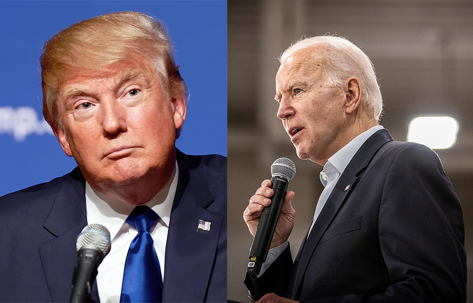 Trump and Biden - differences